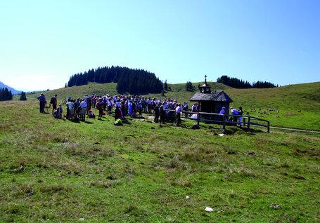 Bergmesse auf der Postalm, (c) WTG