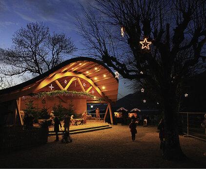 Advent at Lake Wolfgangsee