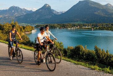 Radfahren am Wolfgangsee, © Alexander Savel
